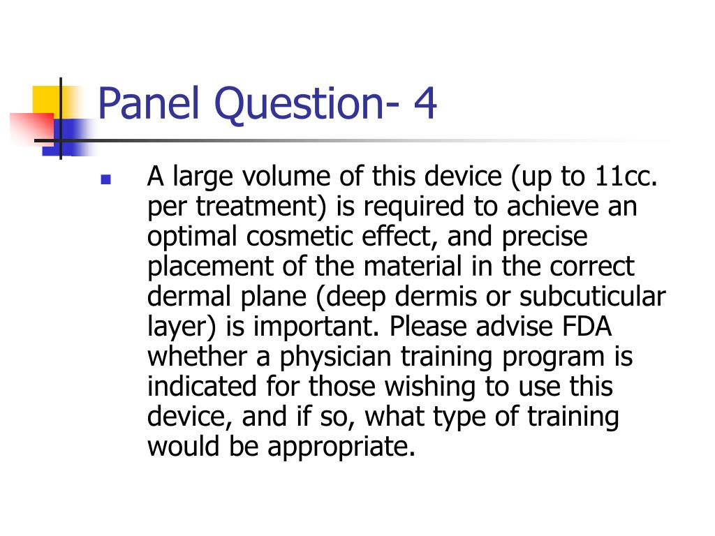 Panel Question- 4