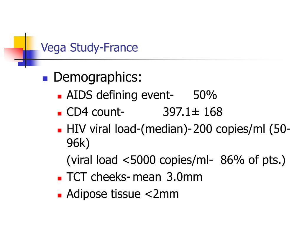 Vega Study-France
