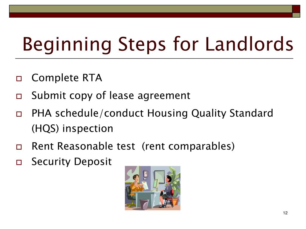 becoming a section 8 landlord essay Things to consider when deciding whether to accept section 8 tenants in your rental properties there are pros and cons to offering section 8 housing.