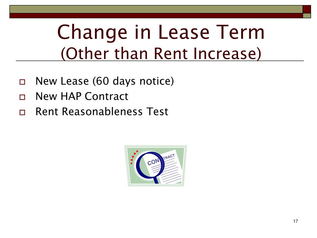 Section 8 Hap Contract Housing Assistance Payments  : change in lease term other than rent increase l from academic-transfer.de size 1024 x 768 jpeg 57kB
