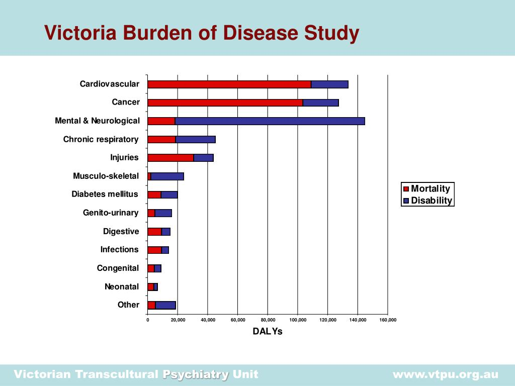 Victoria Burden of Disease Study