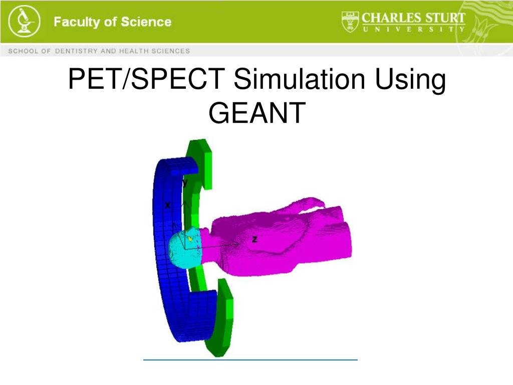 PET/SPECT Simulation Using GEANT