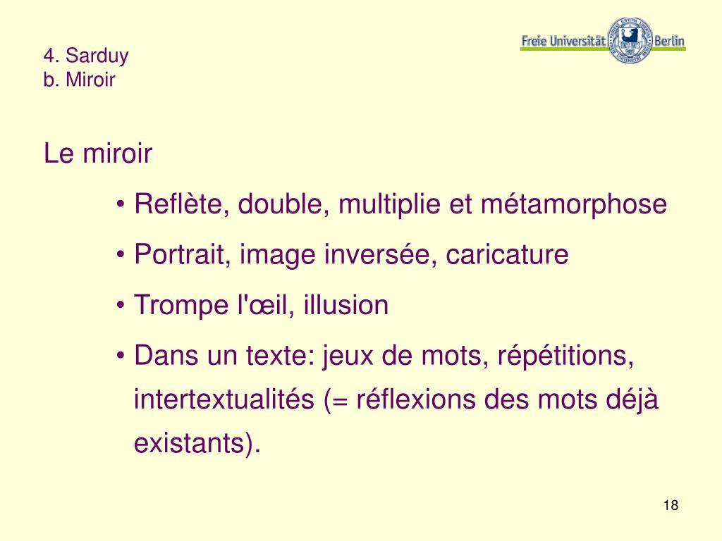 4. Sarduy