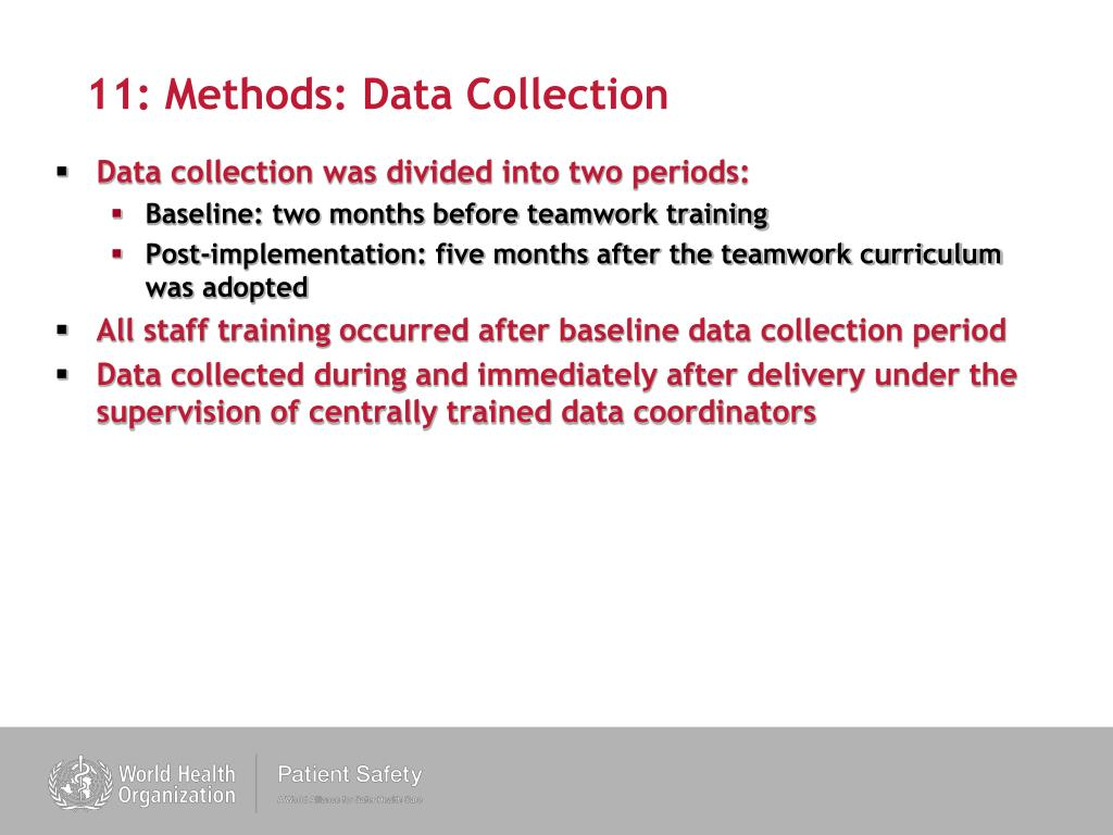 11: Methods: Data Collection