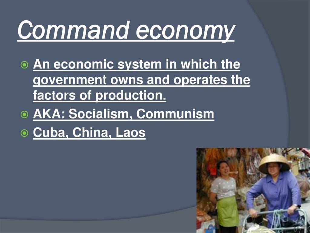 Command economy essay