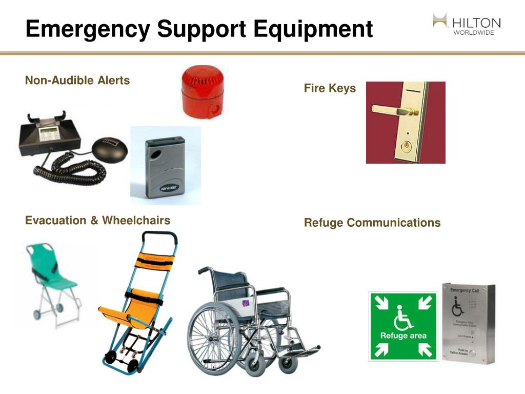 Emergency Support Equipment