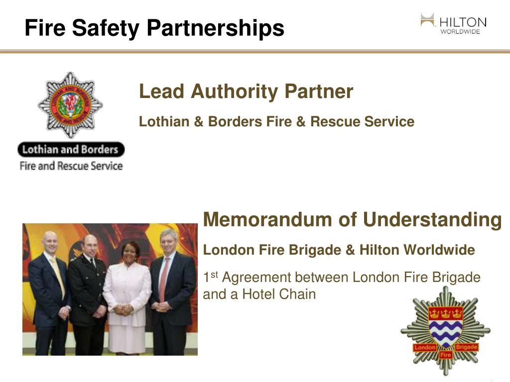 Fire Safety Partnerships