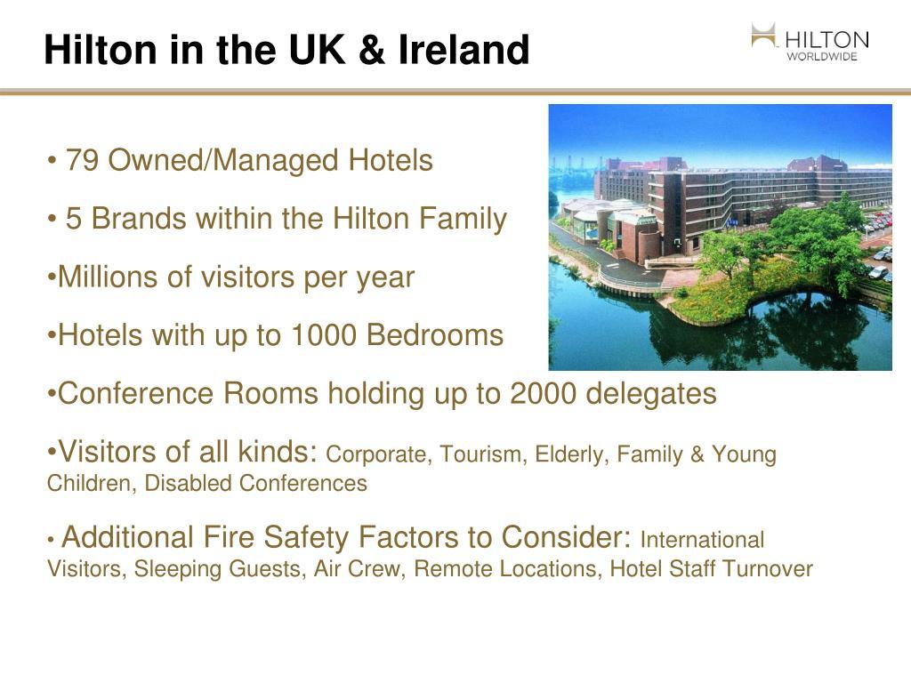 Hilton in the UK & Ireland
