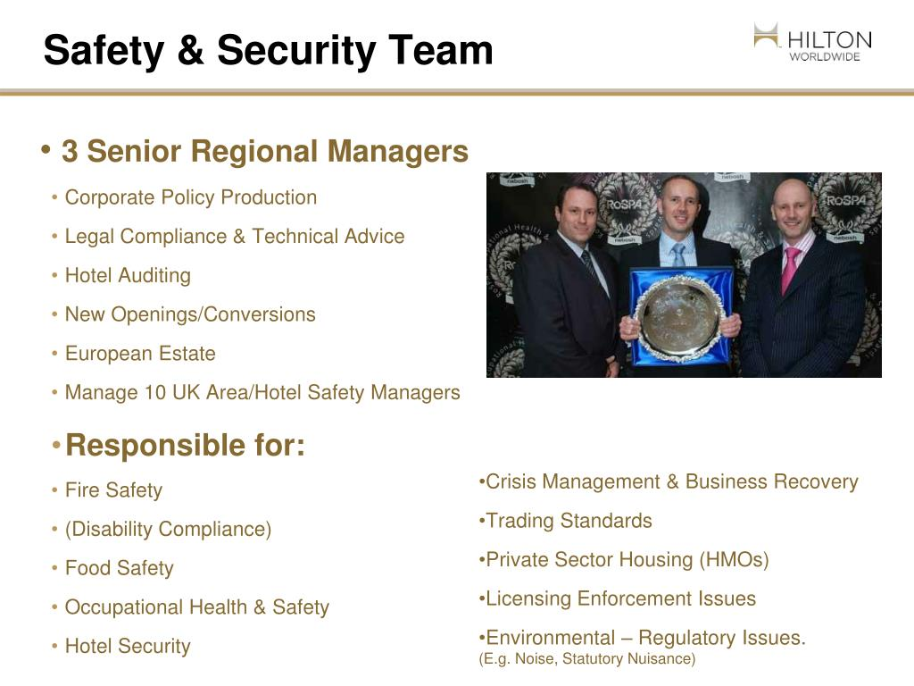 Safety & Security Team