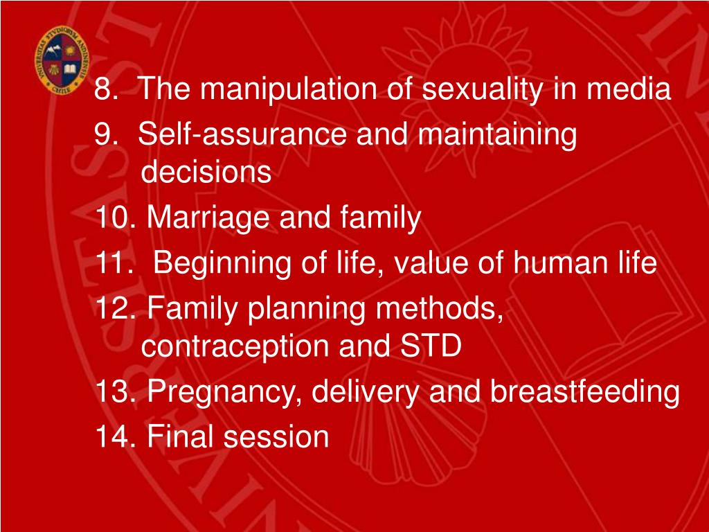 8.  The manipulation of sexuality in media