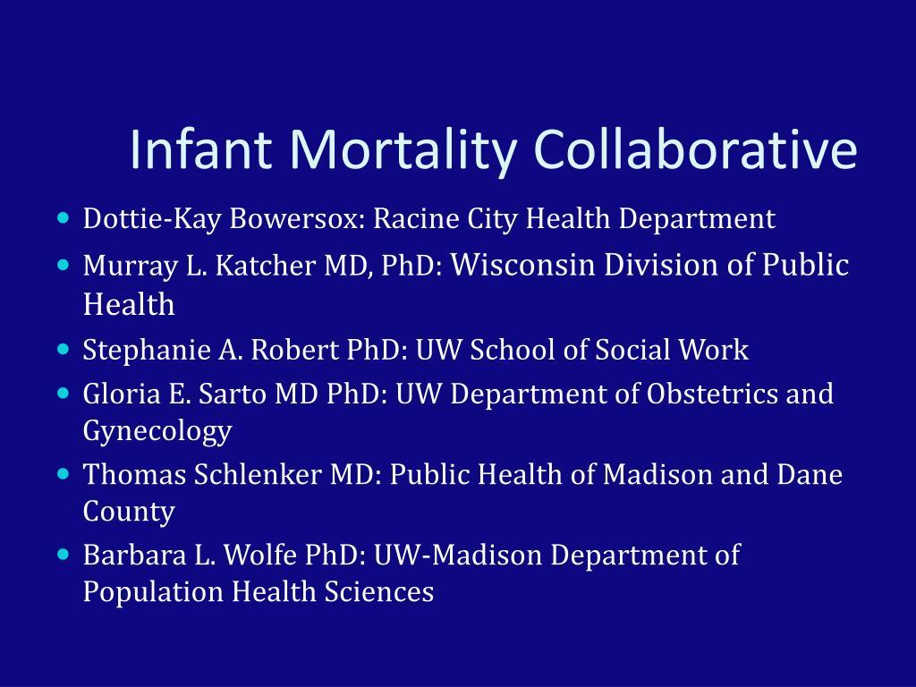 Infant Mortality Collaborative