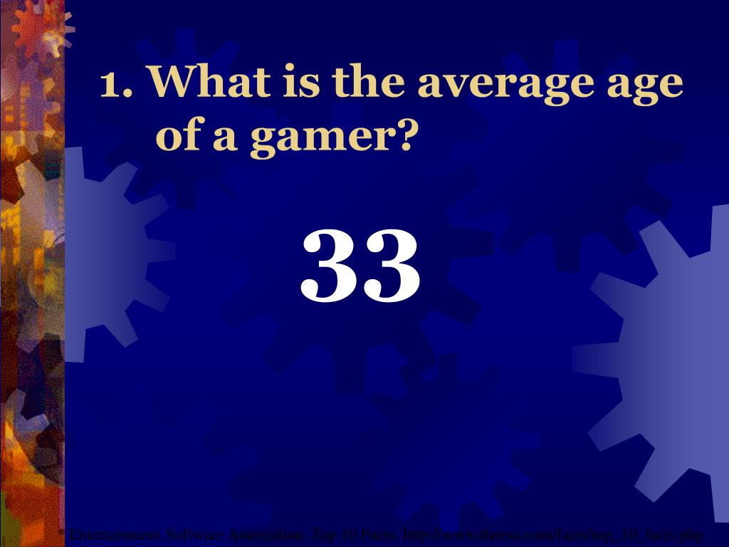 1. What is the average age