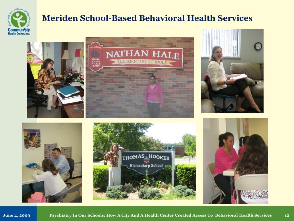 Meriden School-Based Behavioral Health Services