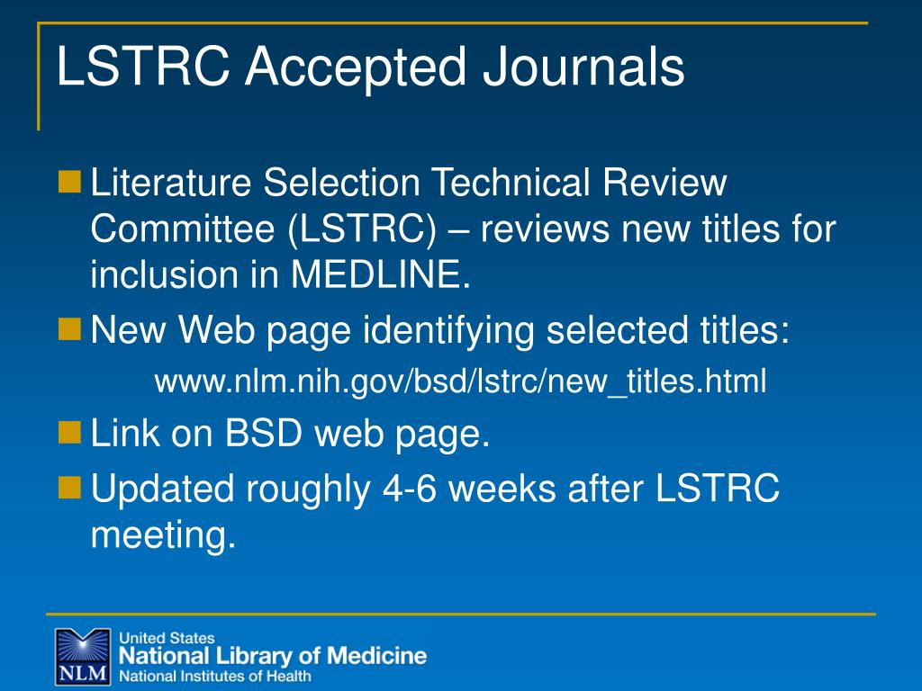 LSTRC Accepted Journals