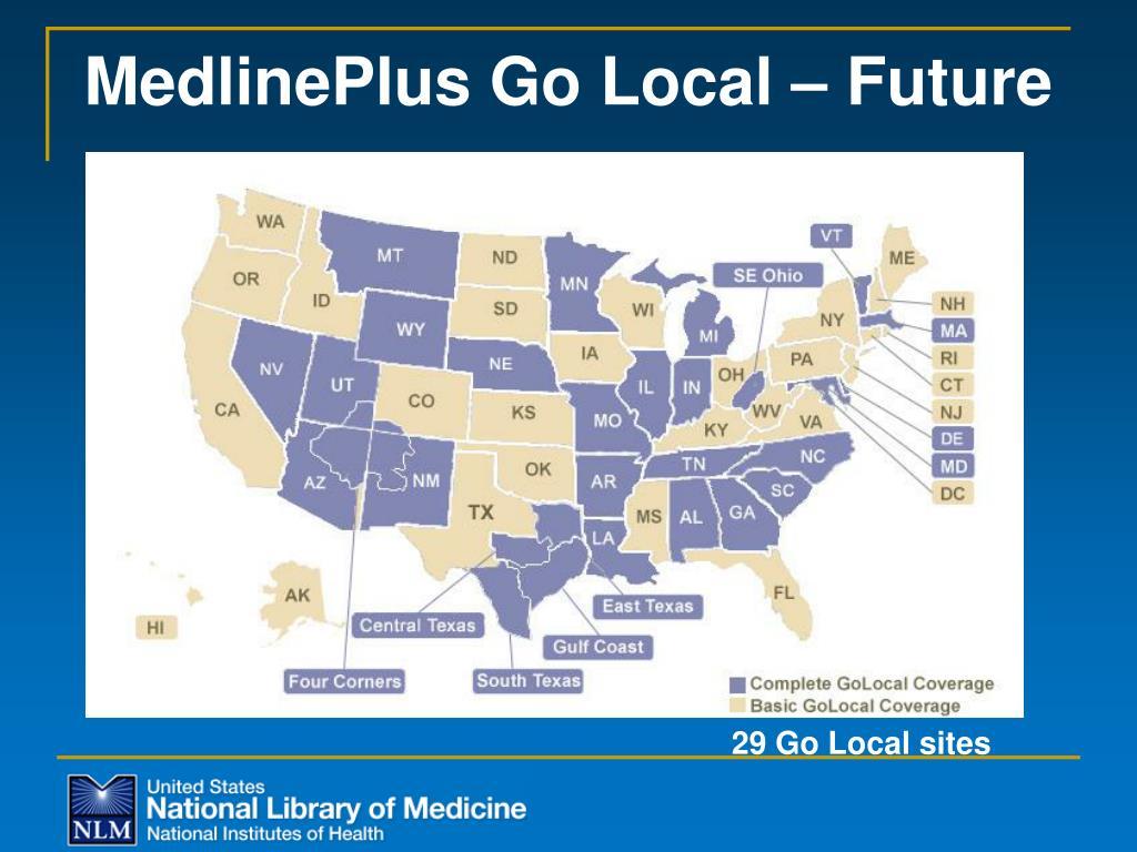 MedlinePlus Go Local – Future