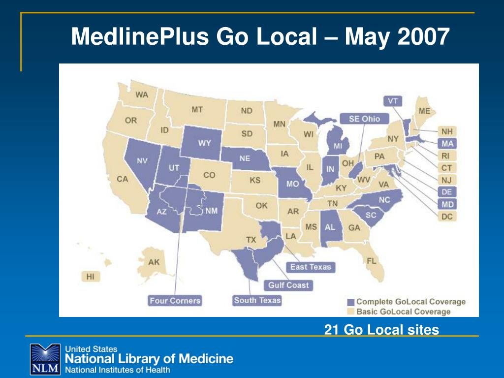MedlinePlus Go Local – May 2007