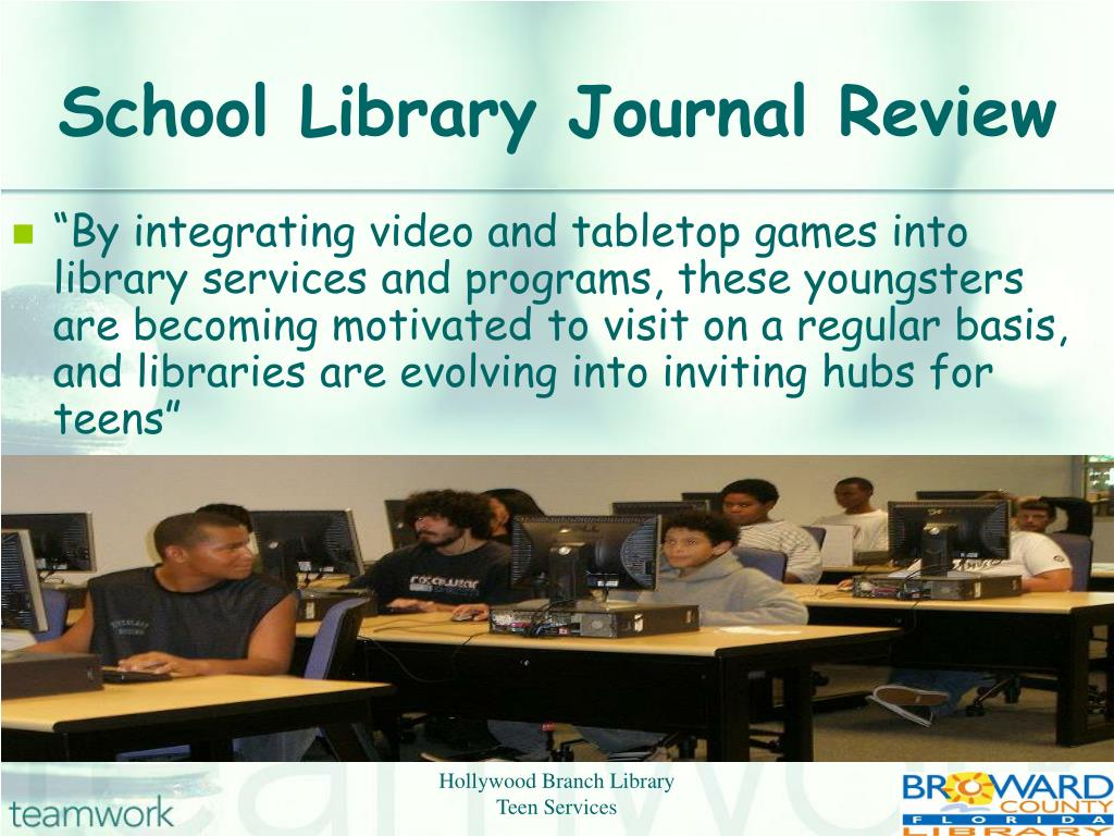 School Library Journal Review
