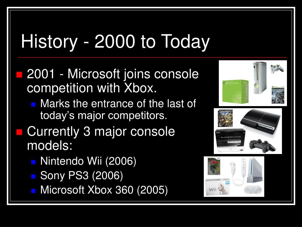 History - 2000 to Today