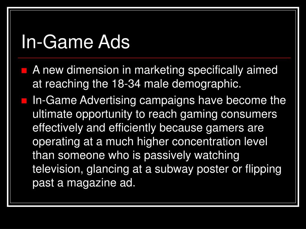 In-Game Ads