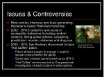 issues controversies
