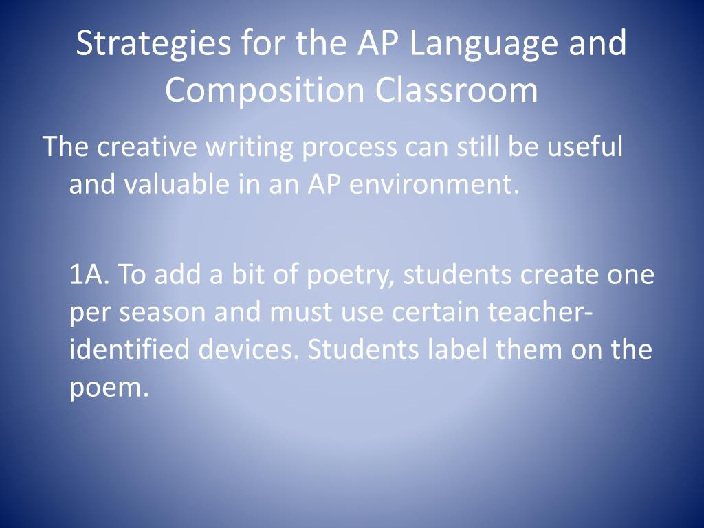 Ap english language and composition 2020 essay examples