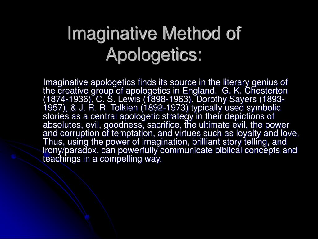 Imaginative Method of Apologetics: