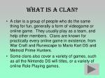 what is a clan