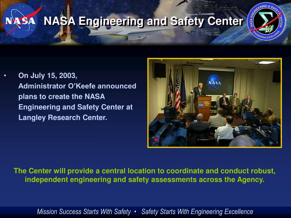 NASA Engineering and Safety Center