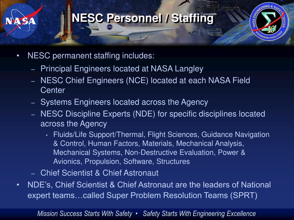 NESC Personnel / Staffing