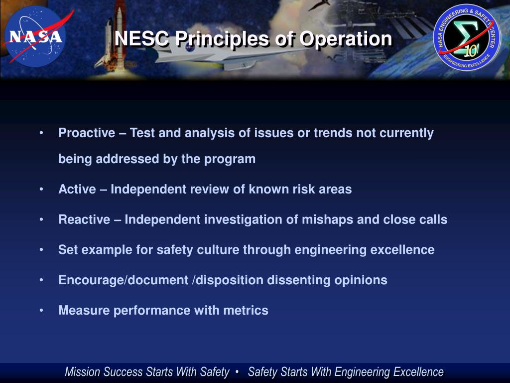 NESC Principles of Operation