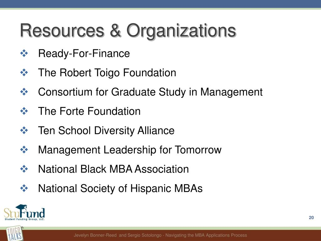 Resources & Organizations
