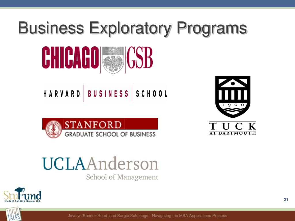 Business Exploratory Programs