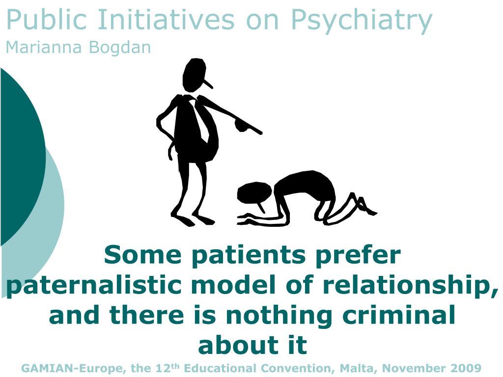 Some patients prefer