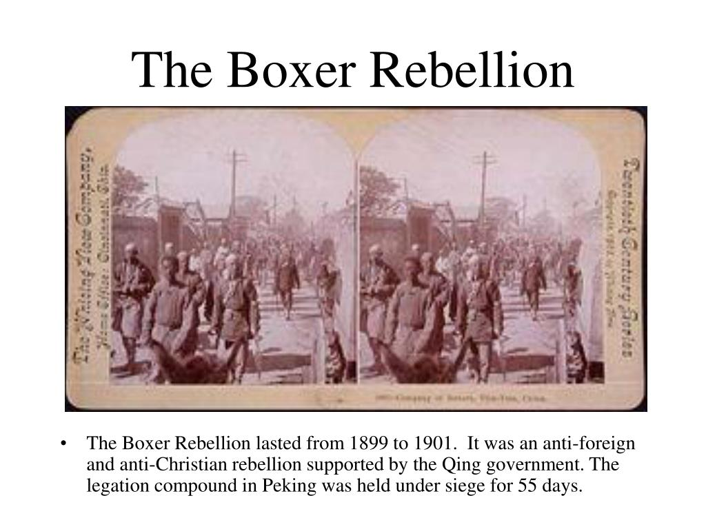 1901 boxer rebellion impacts 1901 boxer rebellion impacts essay the boxer rebellion introduction the boxer uprising and rebellion in 1901 further weakened an already destabilised qing government and was a key component in governmental change.