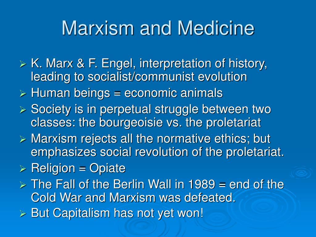 Marxism and Medicine