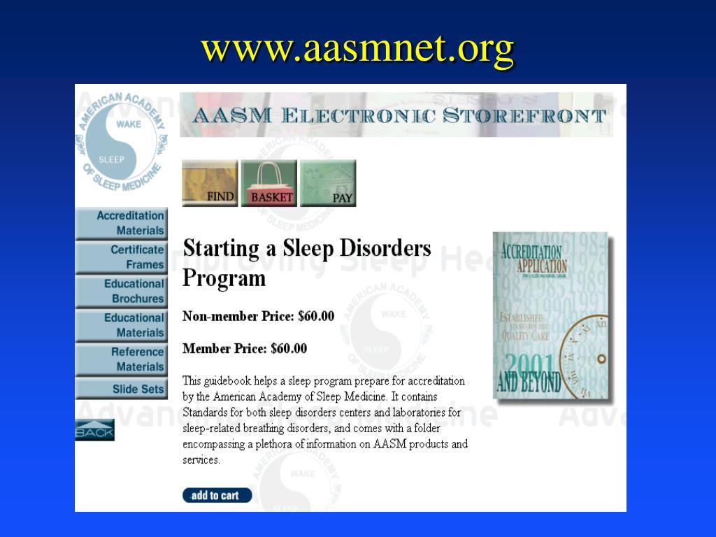 www.aasmnet.org
