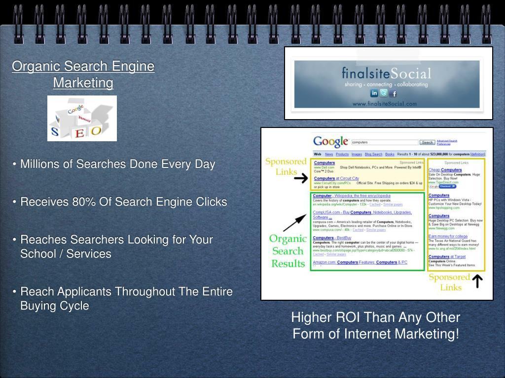 Organic Search Engine Marketing