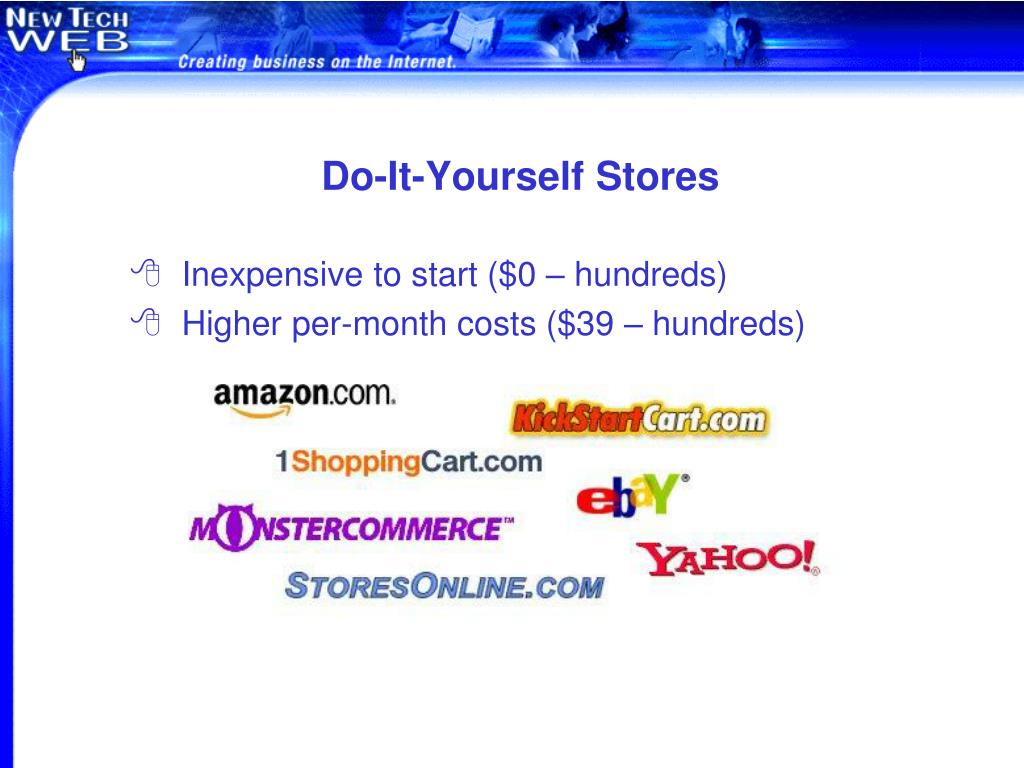 Do-It-Yourself Stores