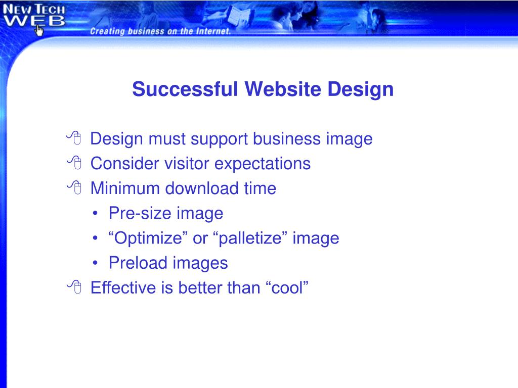 Successful Website Design