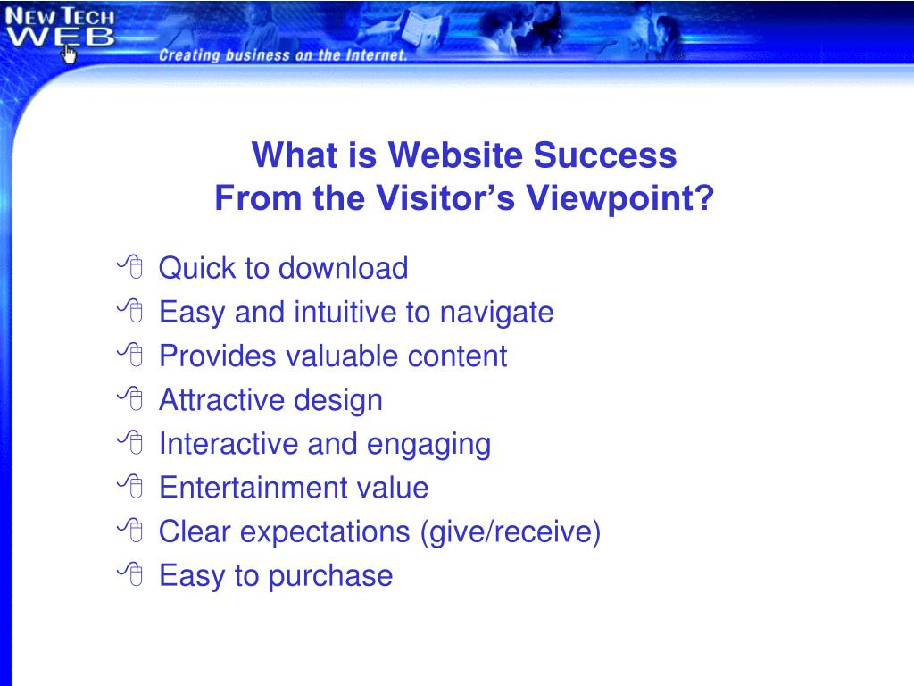 What is Website Success
