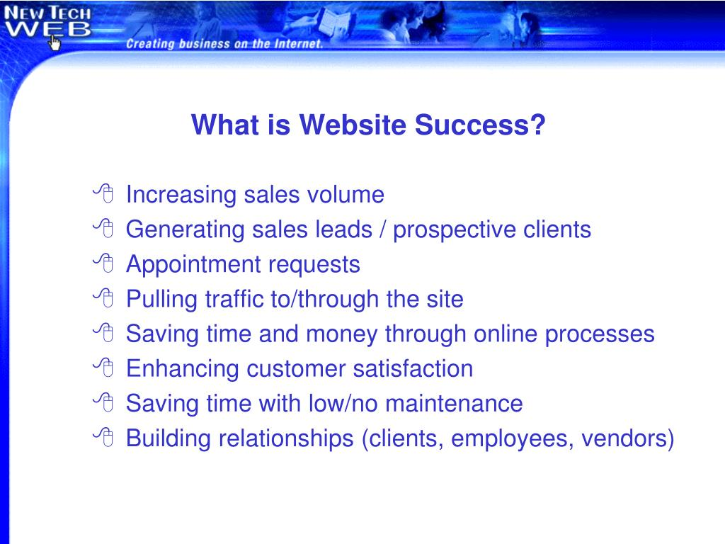 What is Website Success?