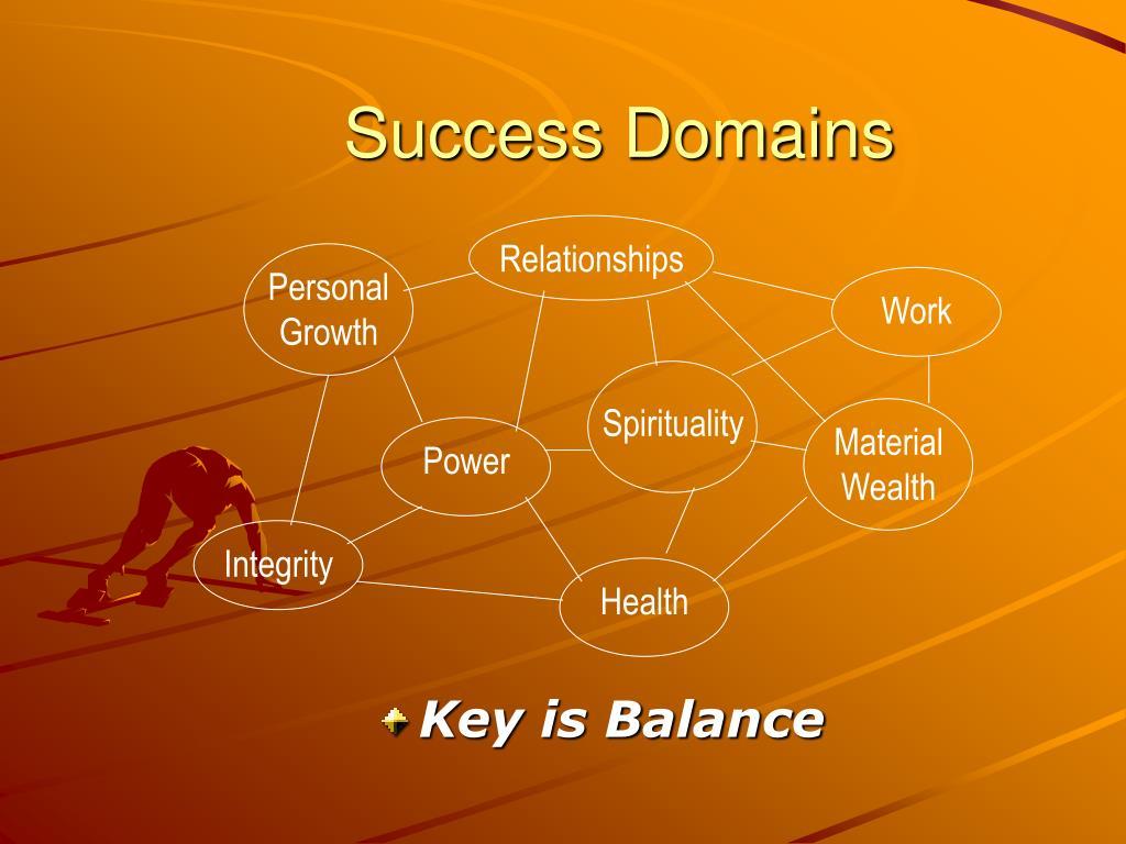 Success Domains