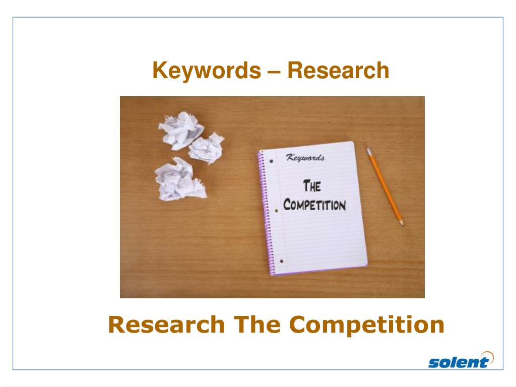 Keywords – Research