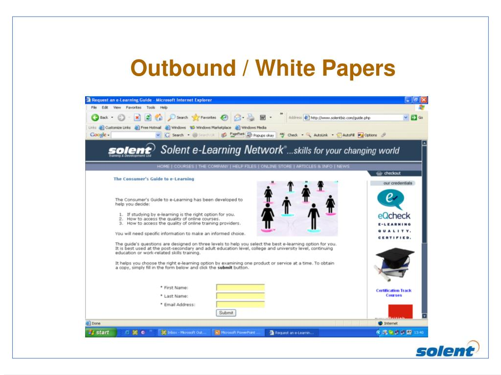 Outbound / White Papers