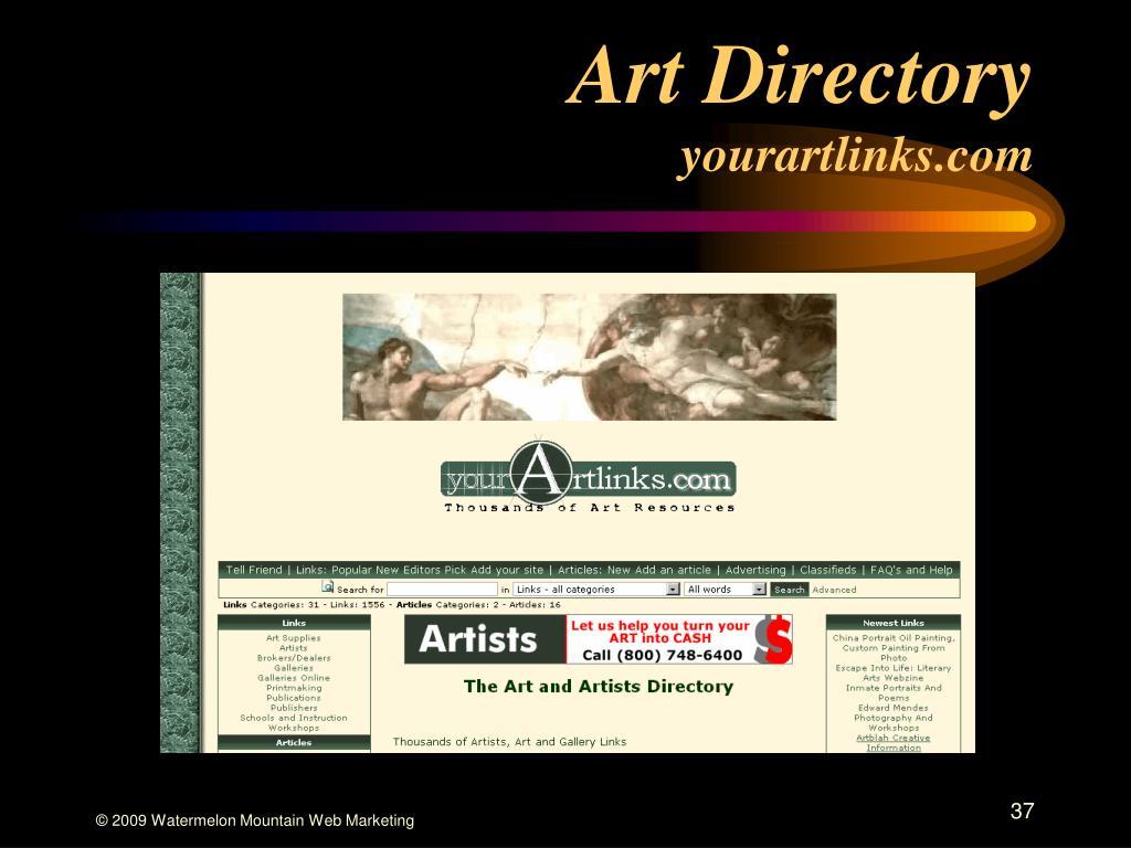 Art Directory