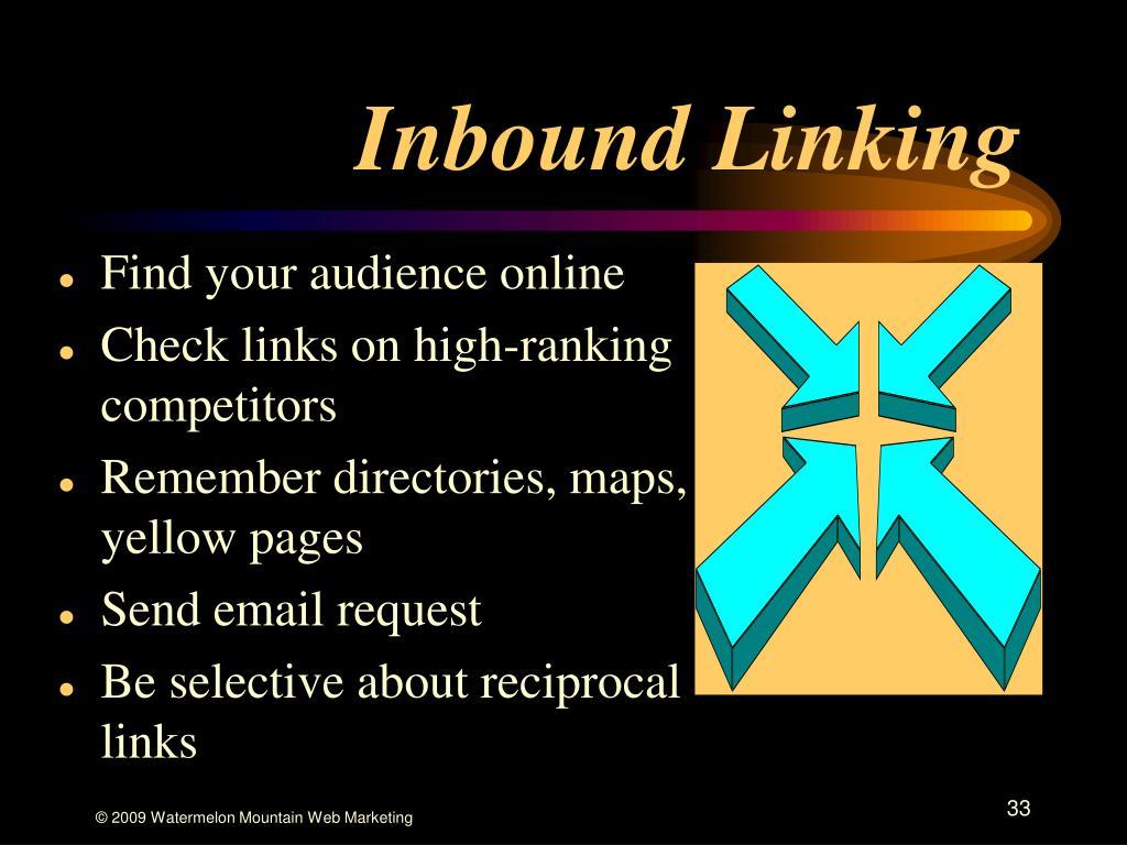 Inbound Linking