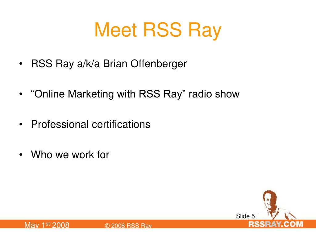 Meet RSS Ray