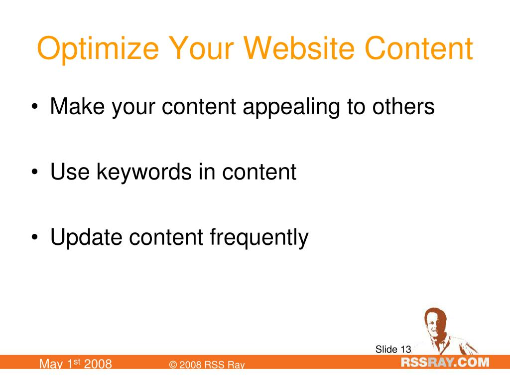 Optimize Your Website Content