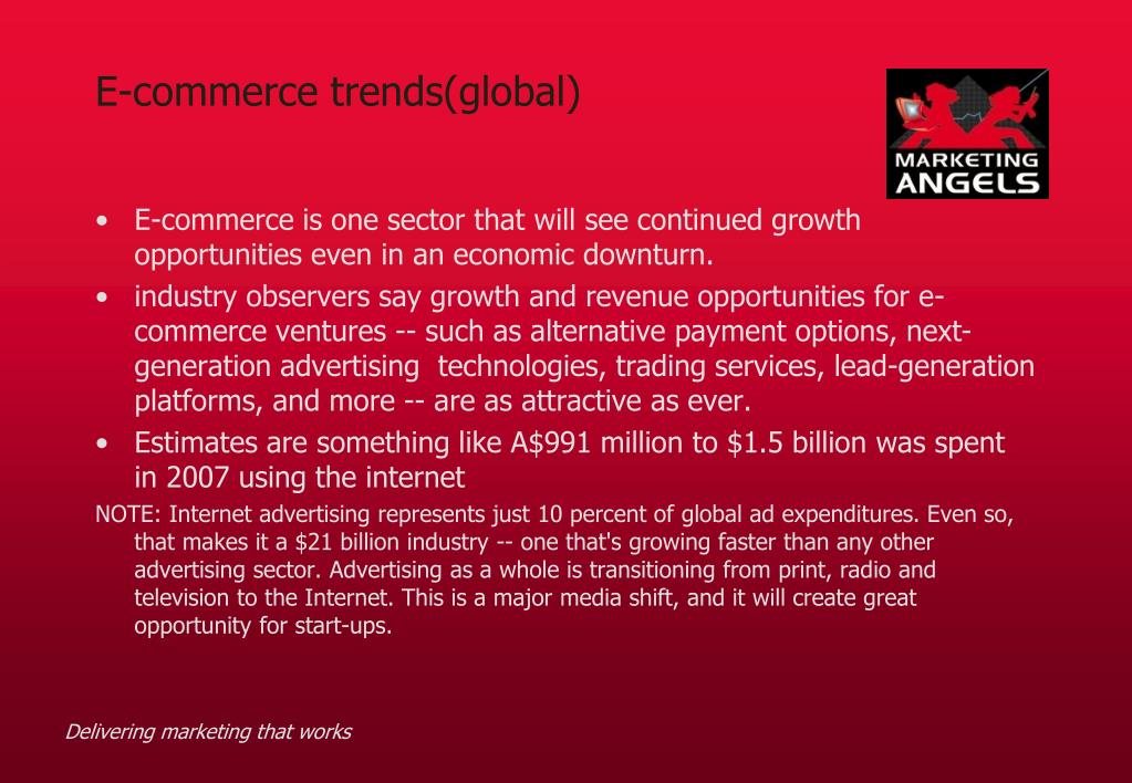 E-commerce trends(global)
