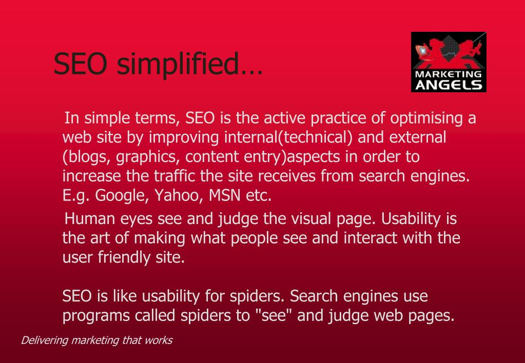 SEO simplified…